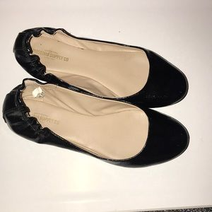 Black flats size 8.In great condition!